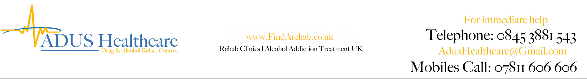 Find a Rehab Centre